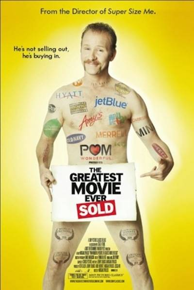Greatest Movie Ever sold filmplakat