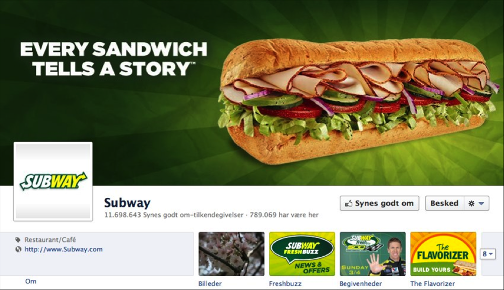Timeline Subway coverbillede