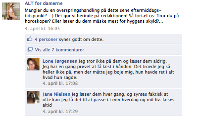 alt for damerne facebook